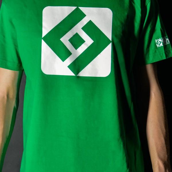 T-shirt Shuffle Diamond Green