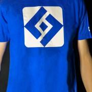 T-shirt Shuffle Diamond Blue