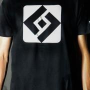 T-shirt Shuffle Diamond Black