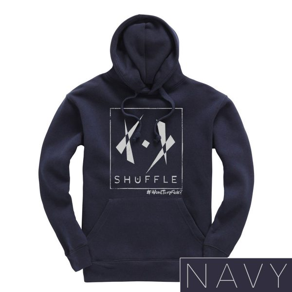 Hoodie SHUFFLE navy